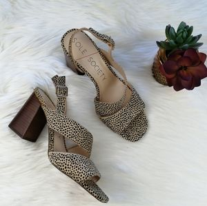 Sole Society Jiya High Heel Sandals Size 9